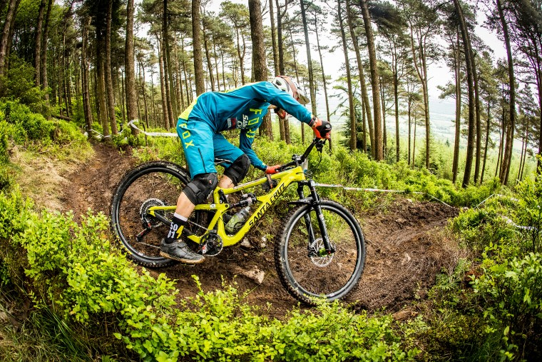 During the fourth round of the Irish Enduro World Series in Wicklow County Ireland.